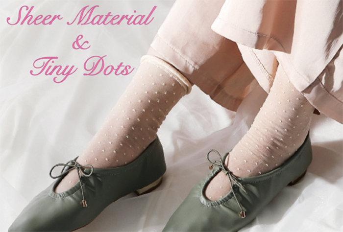 #06 Vrouwelijkheid: met de perfecte doorschijnende sokken voor lente en zomer