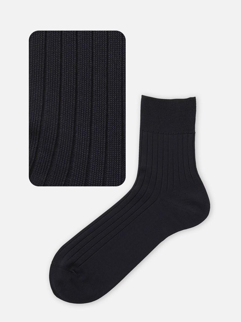 Geribbelde korte sokken 176N M