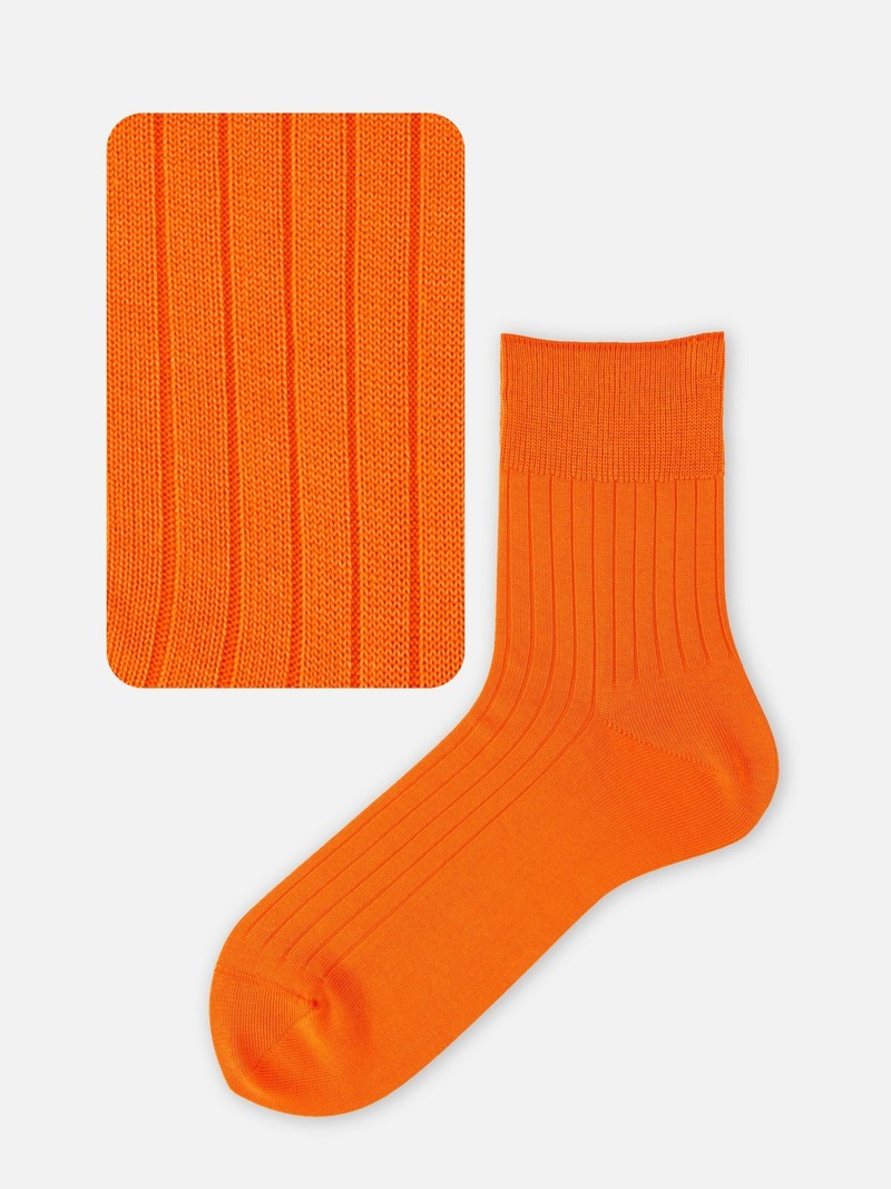 Ribbed Short Socks 176N M