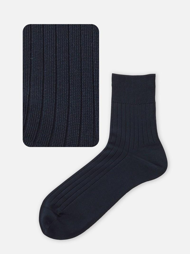 Ribbed 176N Short Socks L
