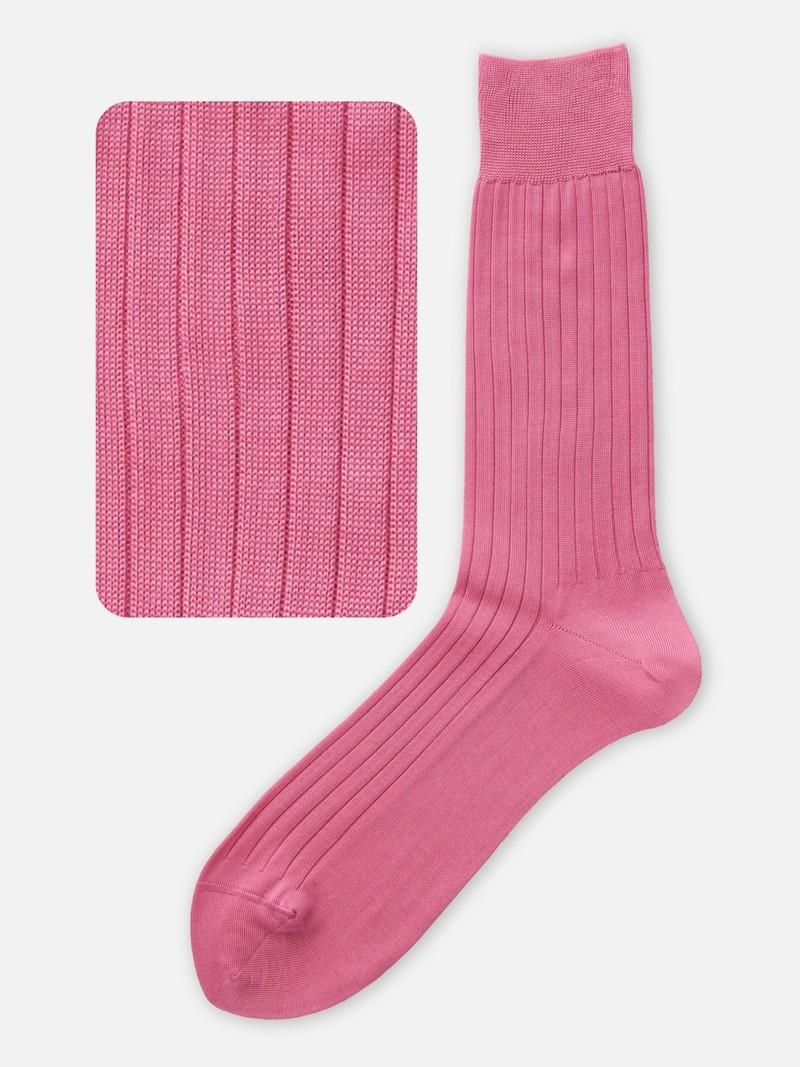 100% Cotton Rib Mid-Calf Socks M