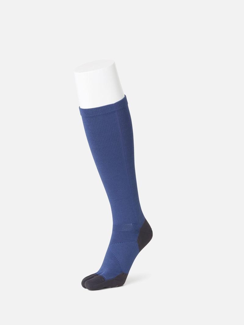 Sport Marathon 5 orts hohe Socke. Kompression L