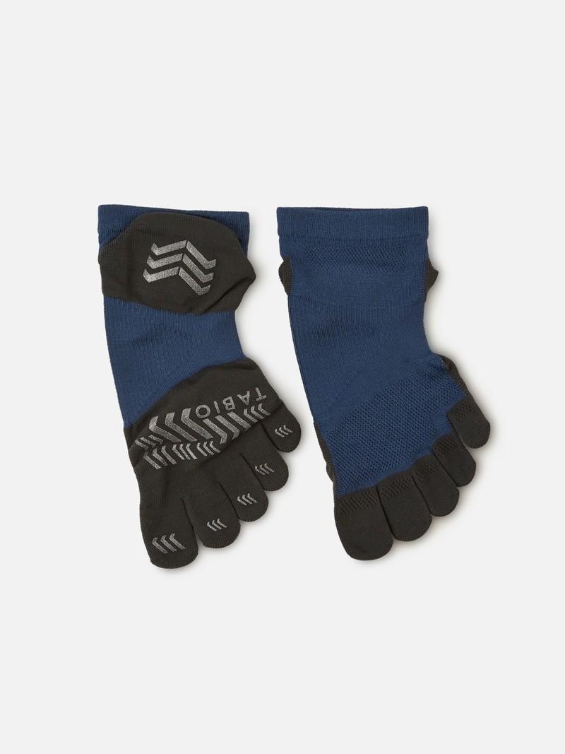 Sport Marathon Pro 5 Zehen kurze Socke L