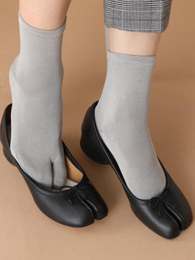 Chaussettes Tabi en coton, avantageuses contre les hallux valgus