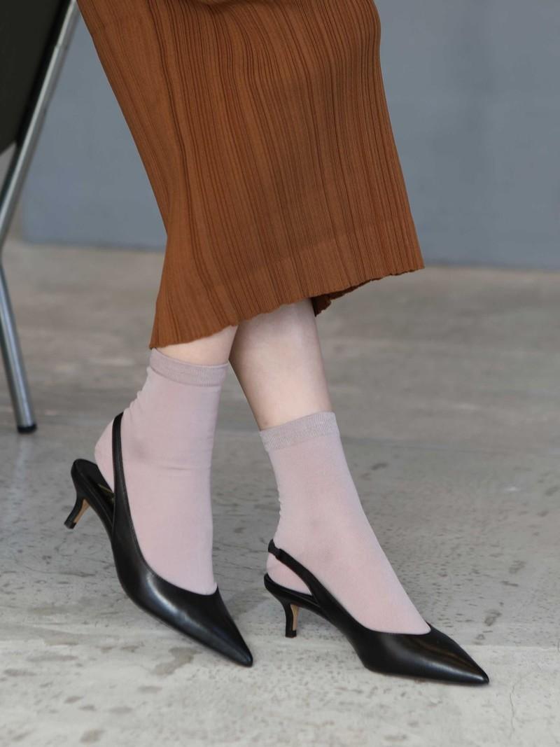 Basic Cotton Egyptian 220N Ankle Socks M