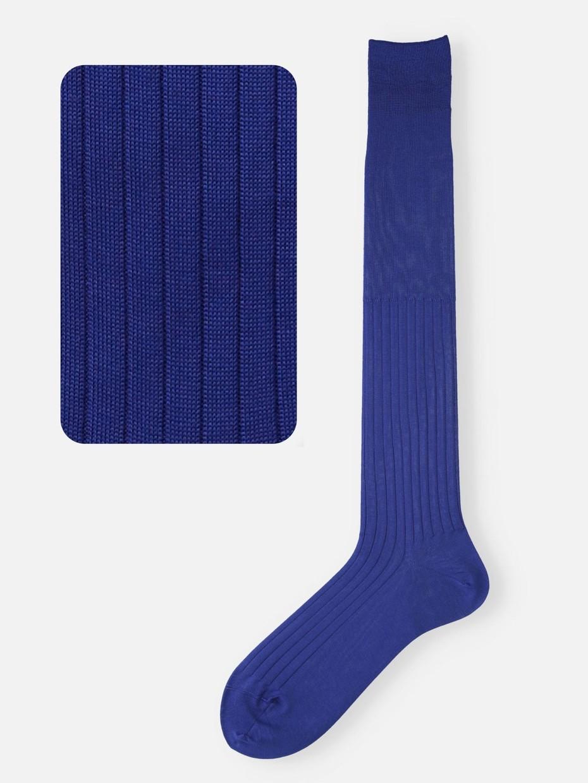 hochgerippten Socken aus 100 % Baumwolle