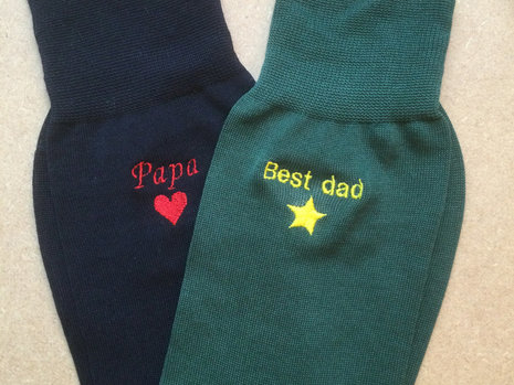 Free embroidery for Father's Day