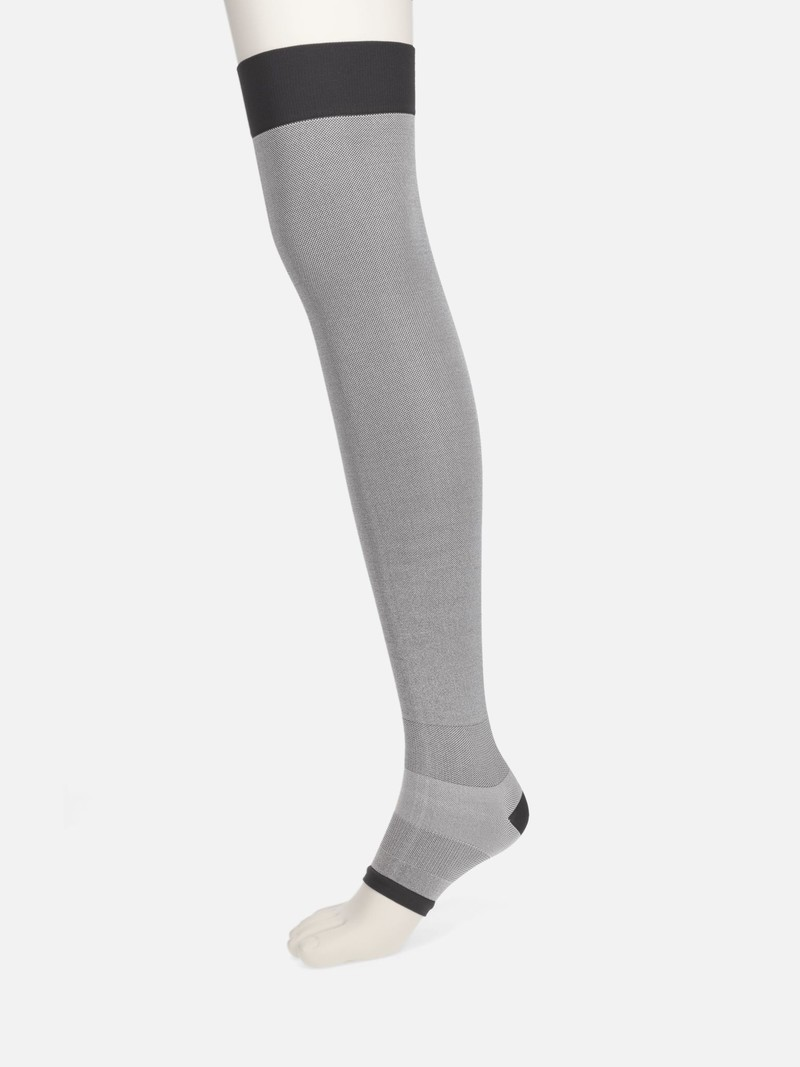 Compression Relax Toeless High Socks