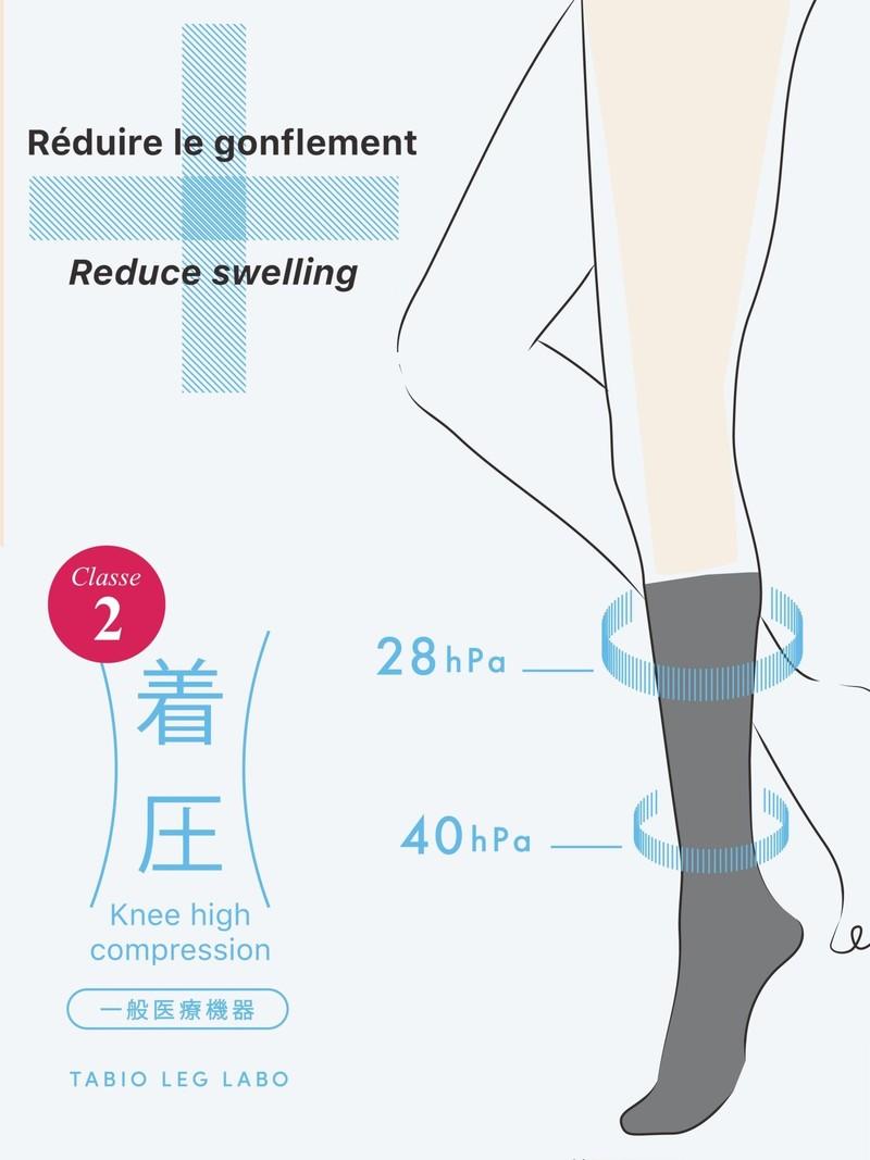 Compression Knee High Socks Class2 L