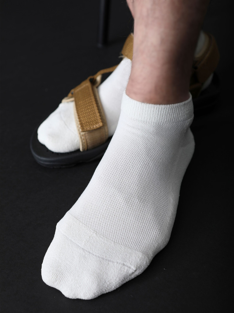 Plain Washi Crepe Socke M
