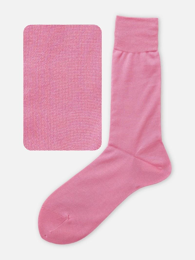 Mittlere Socke aus reiner Baumwolle M
