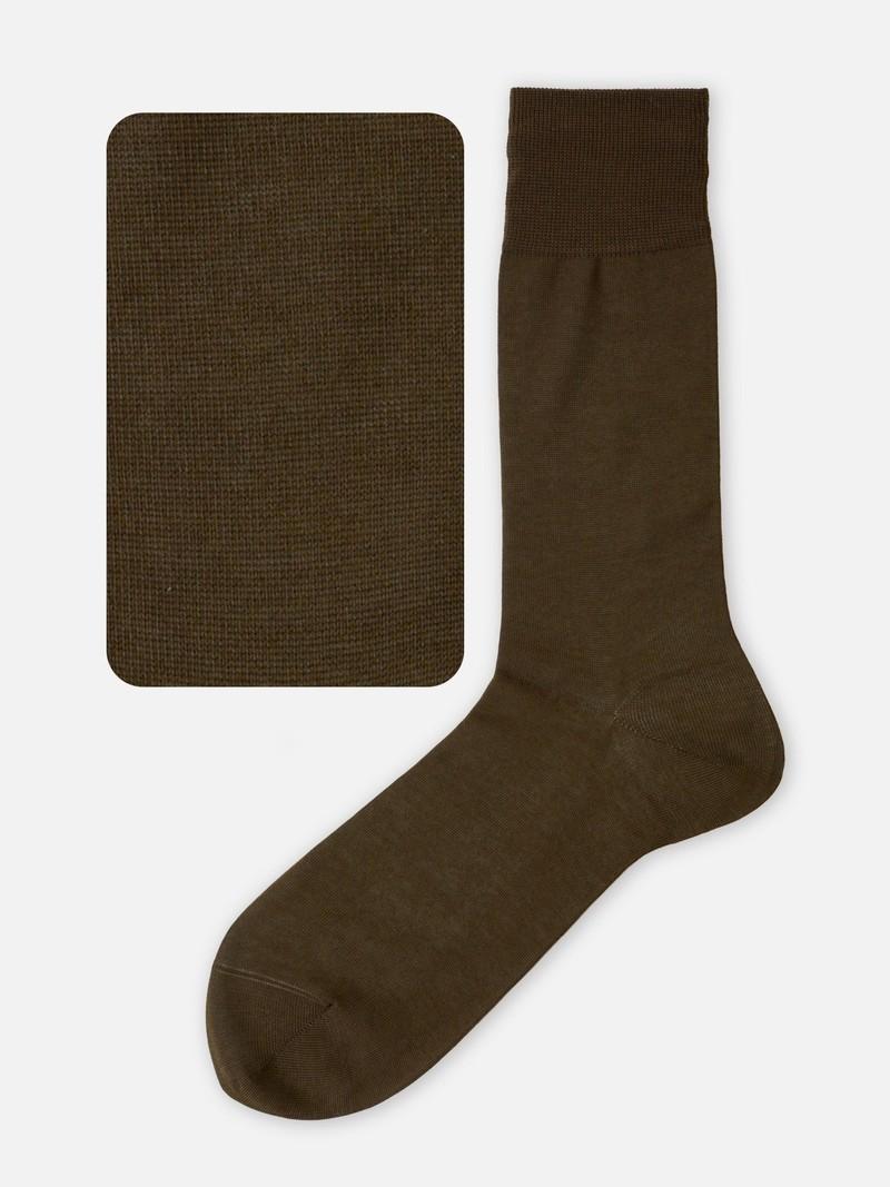 100% Cotton Plain Socks L