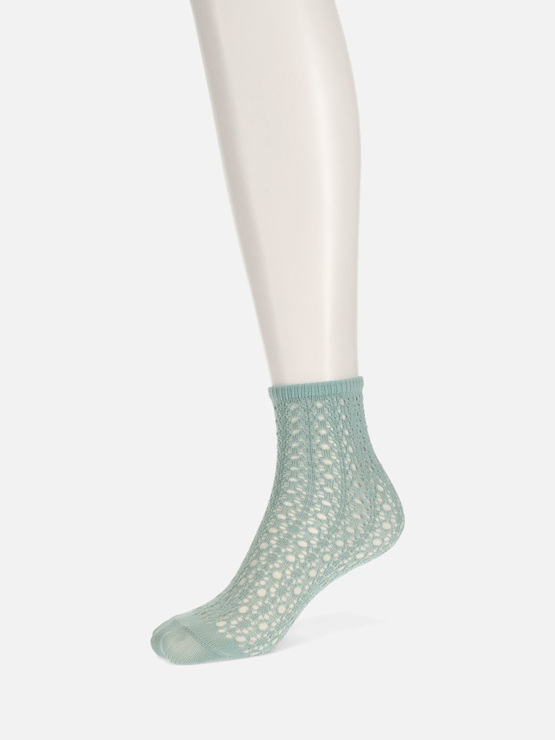 Irmack Mesh Ankle Socks