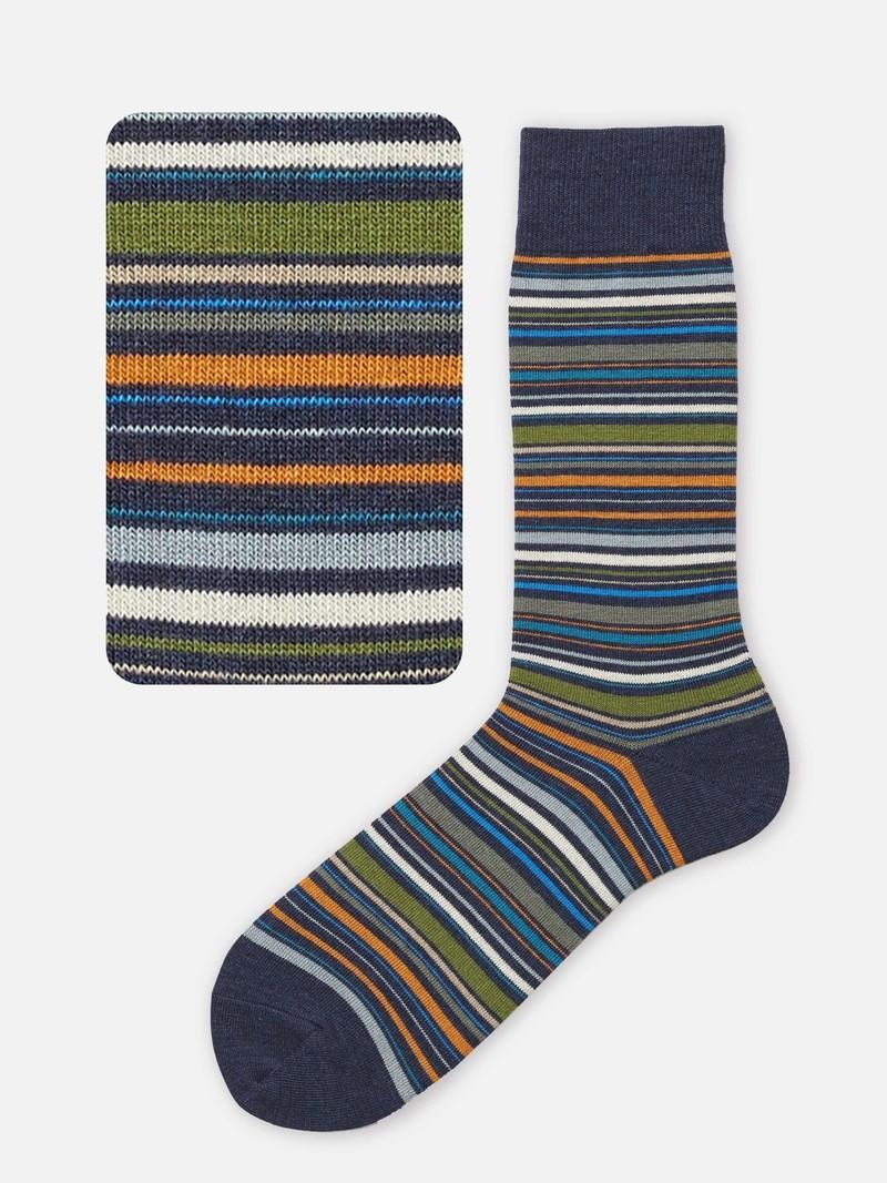 Multi-Stripe Socks L