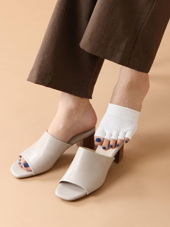 chaussettes partielles
