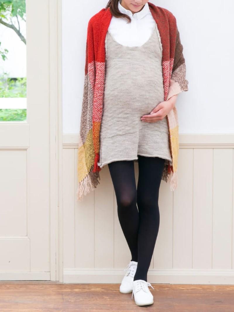 80D Maternity Tights