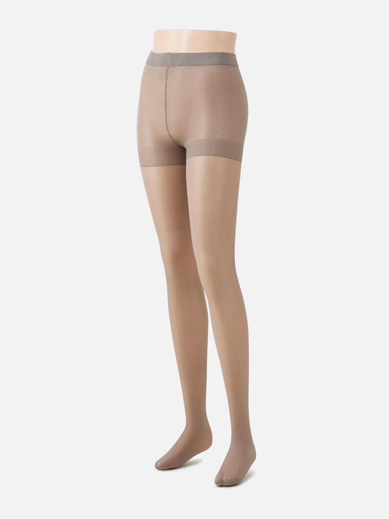 Lamé tights
