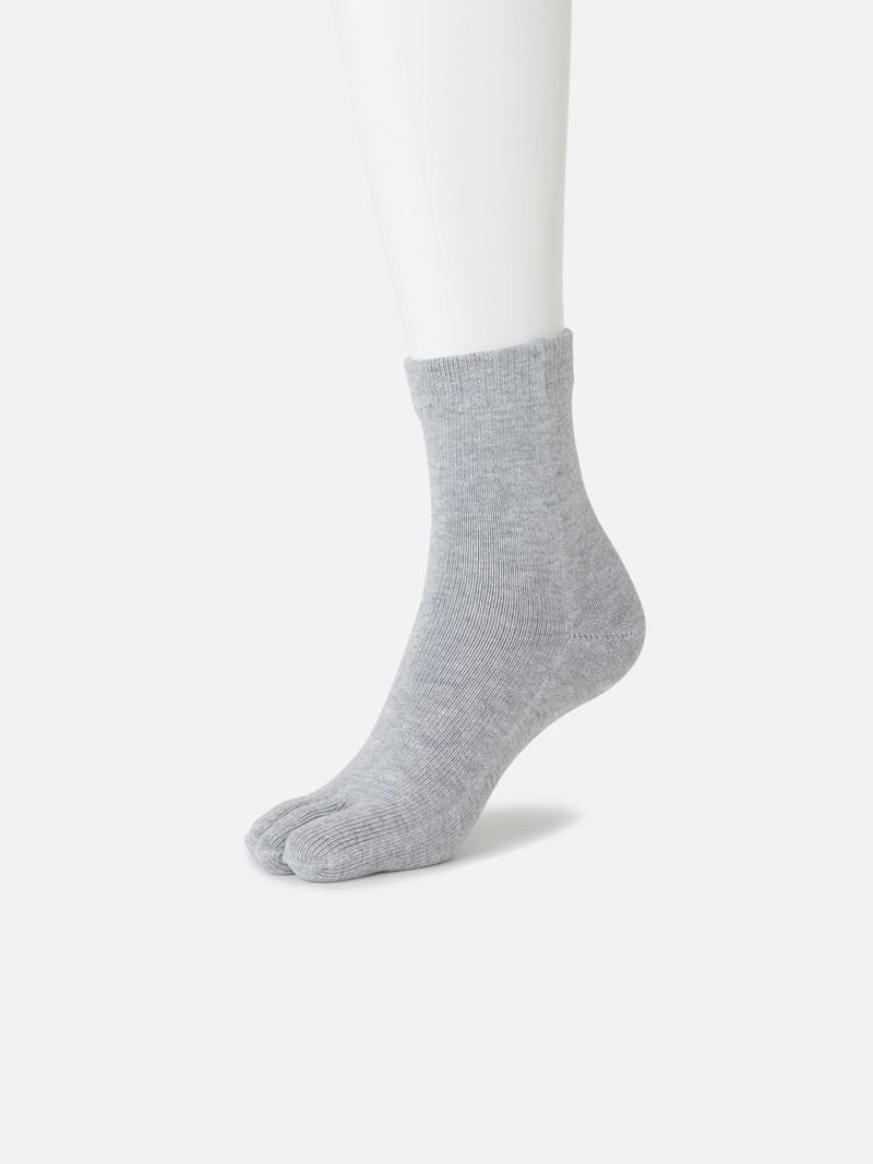 Plain Ankle Toe Socks