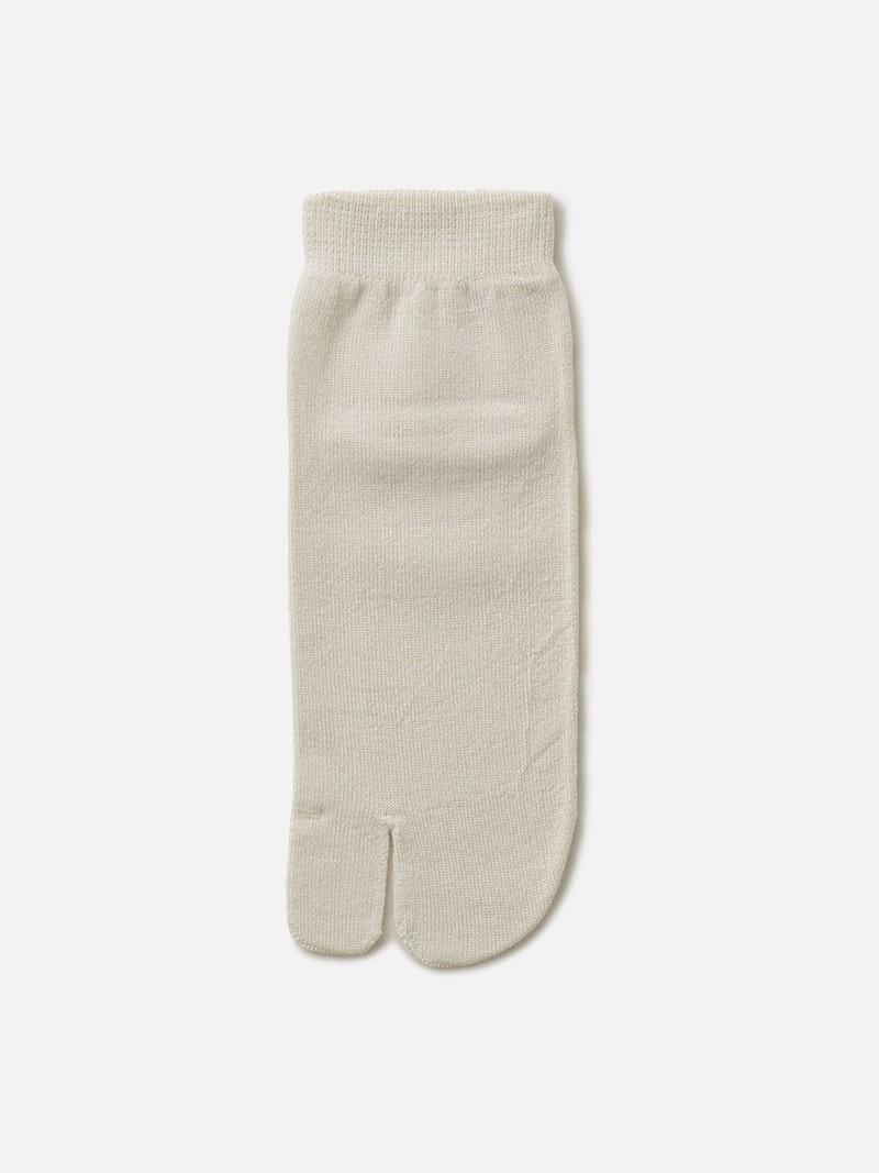Tabi-Socke aus normaler Seide Catéchine M