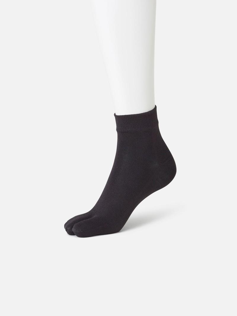Tabi silk sock, plain Catechin L