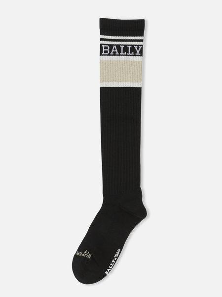 042170900 BALLY x TABIO FINE JERSEY LONG ATHLETIC SOCKS M