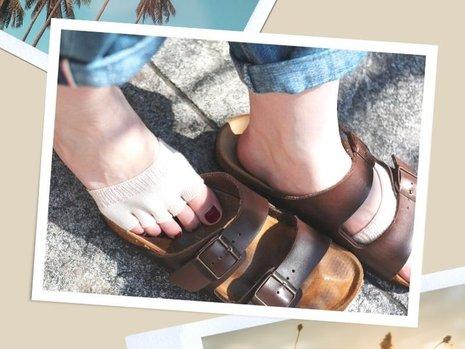 #18 5 Gründe, warum Sie im Sommer Socken tragen sollten