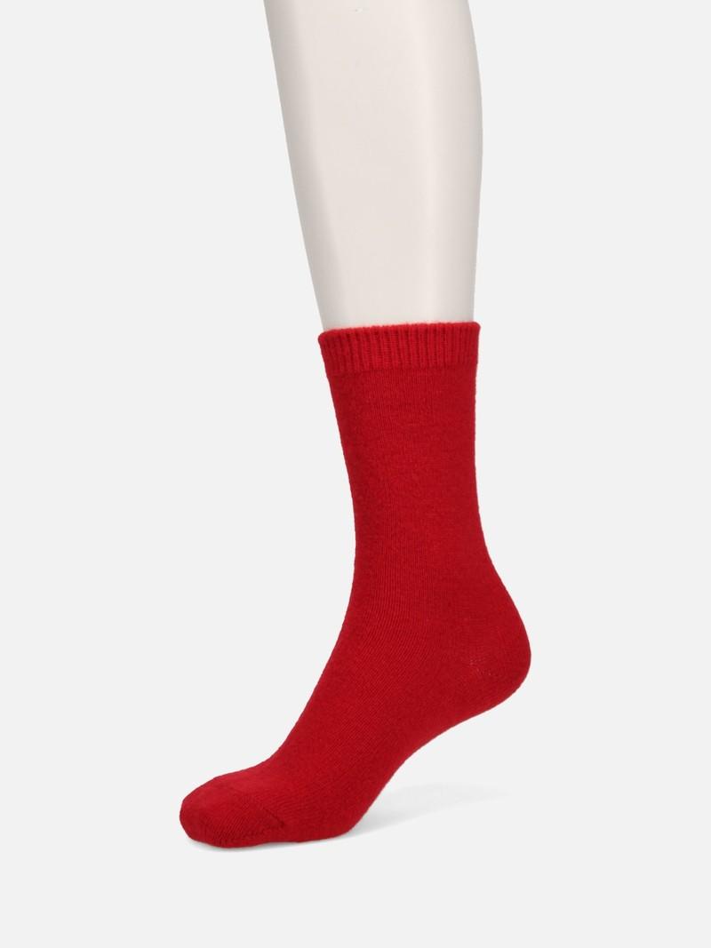Premium Lambswool Plain Crew Socks