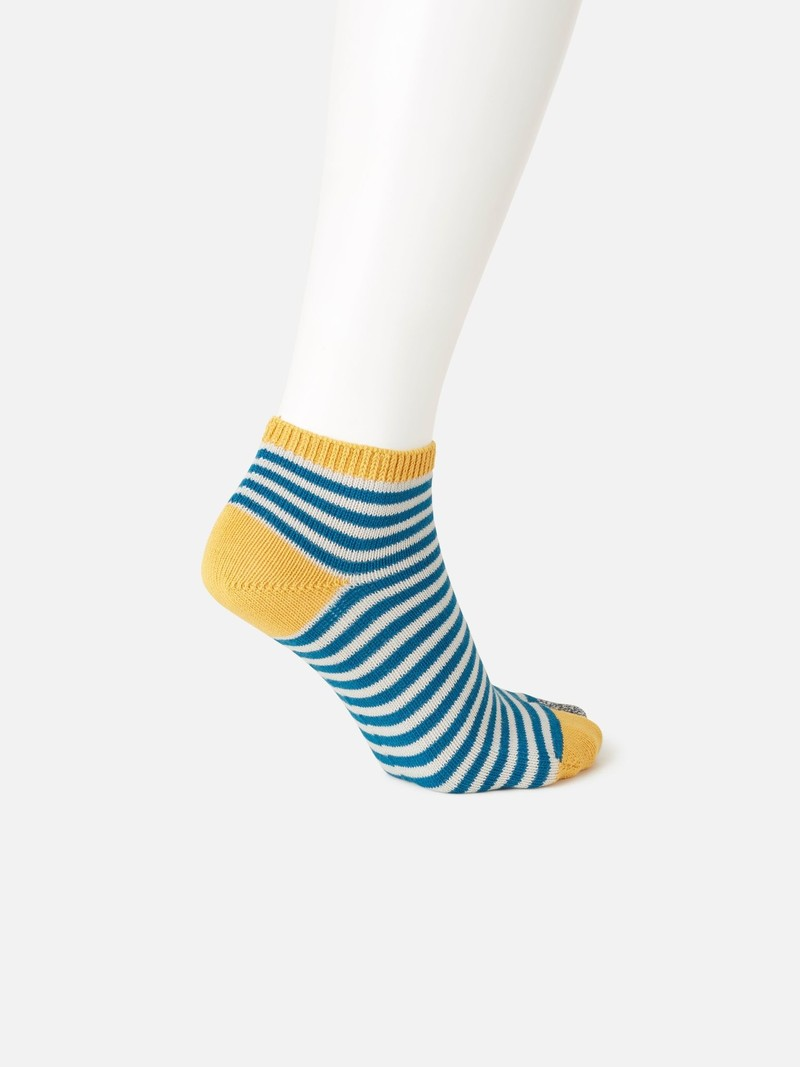 Tabi Striped Trainer Socks M