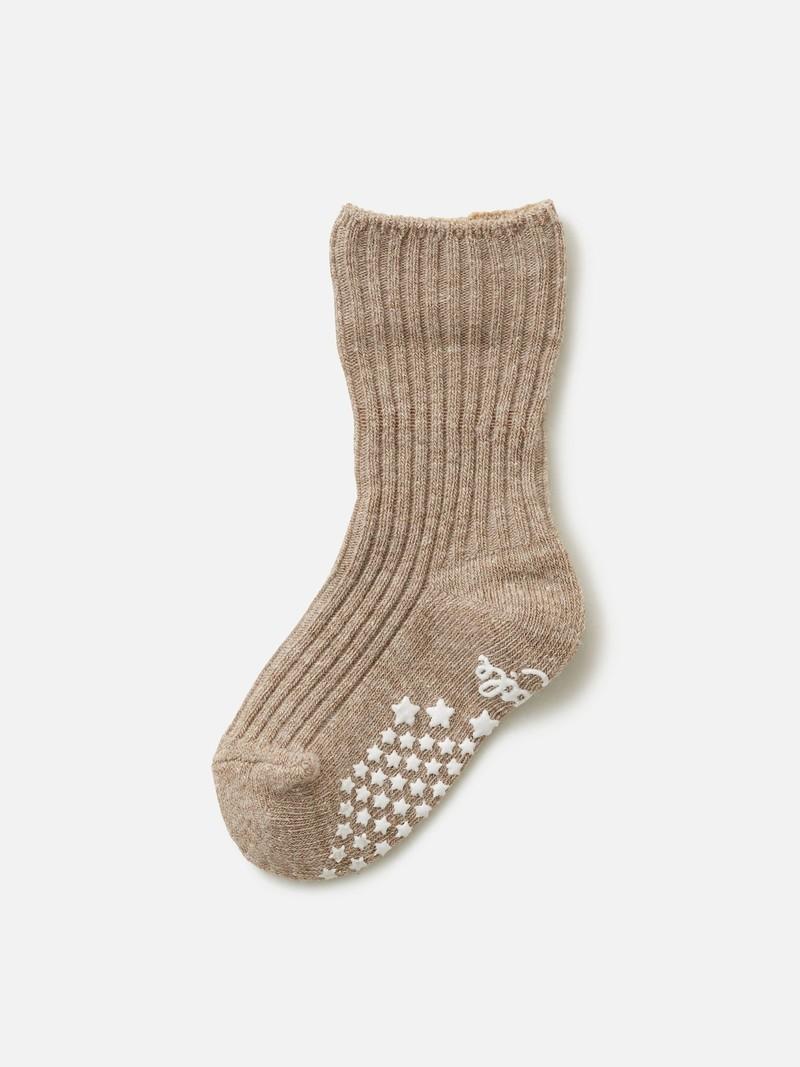 Kids Top Folded Ribbed Socks 9-12cm