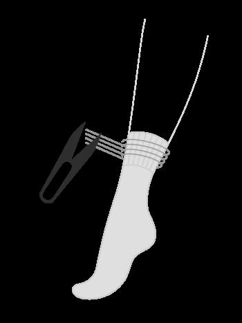 Service zur Entfernung von Gummibändern