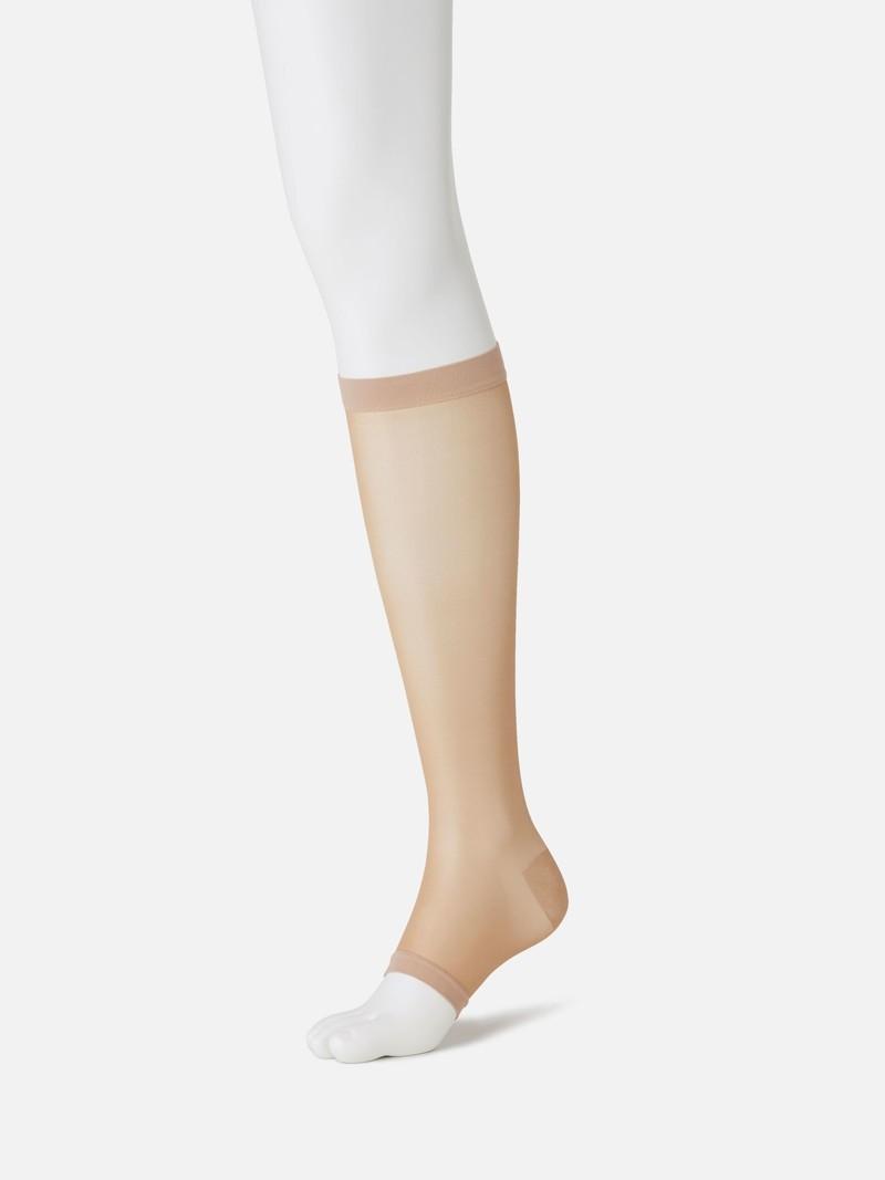 Plain Toeless Compression High Socks