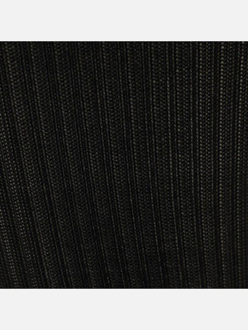 Hoge sok 100% zijde geribbeld 256N L
