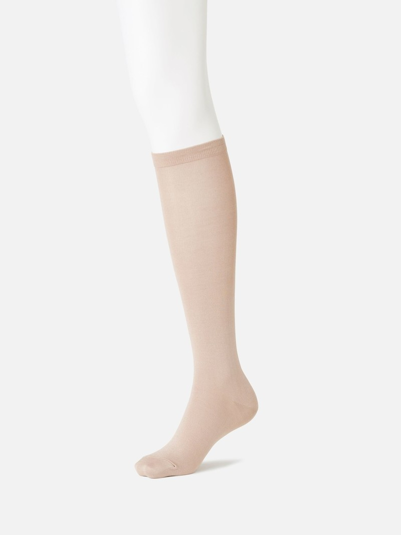 Plain 220N Knee High Socks