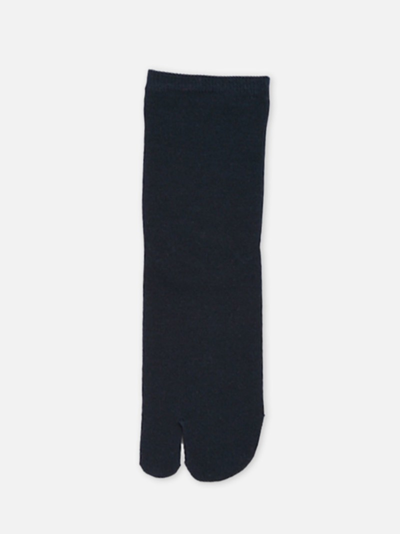 Socquette Tabi en coton unie