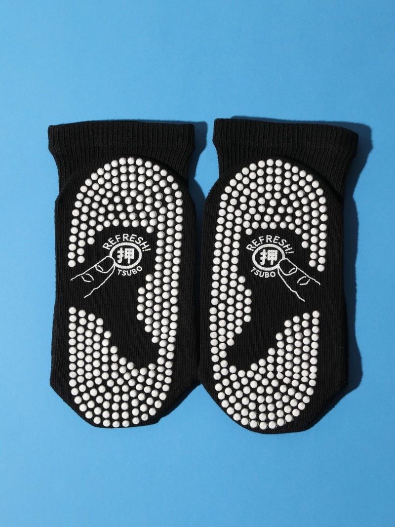 Mi-chaussette carte des acupoints imprimée S