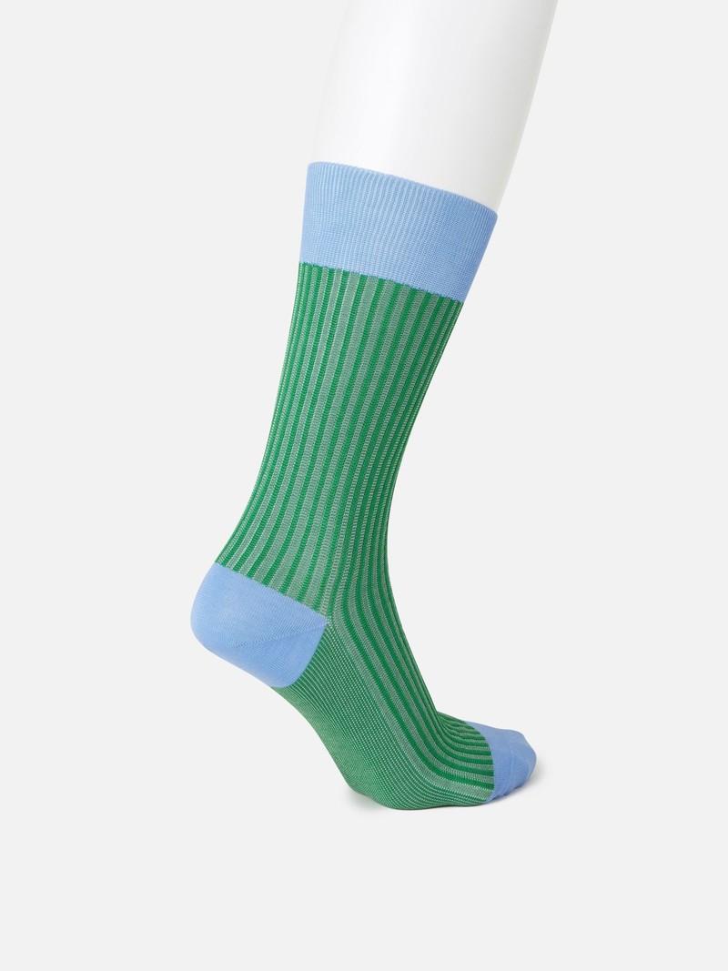 Jacquard-Socken mit Streifen M
