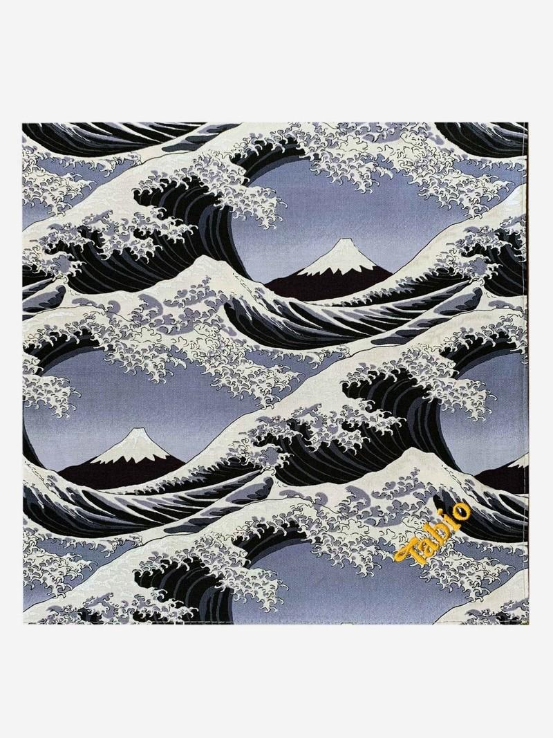 Furoshiki Verpackungsabteilung [Fuji] Grau