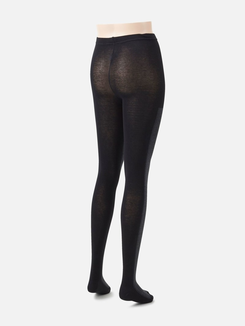 Two Tone Cotton Tights