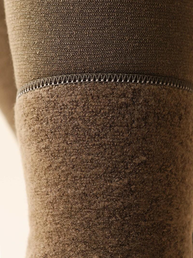 Schlichte, weiche Mikrofaser-Leggings