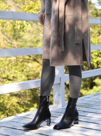 041900176 Collant laine mixte côtelé