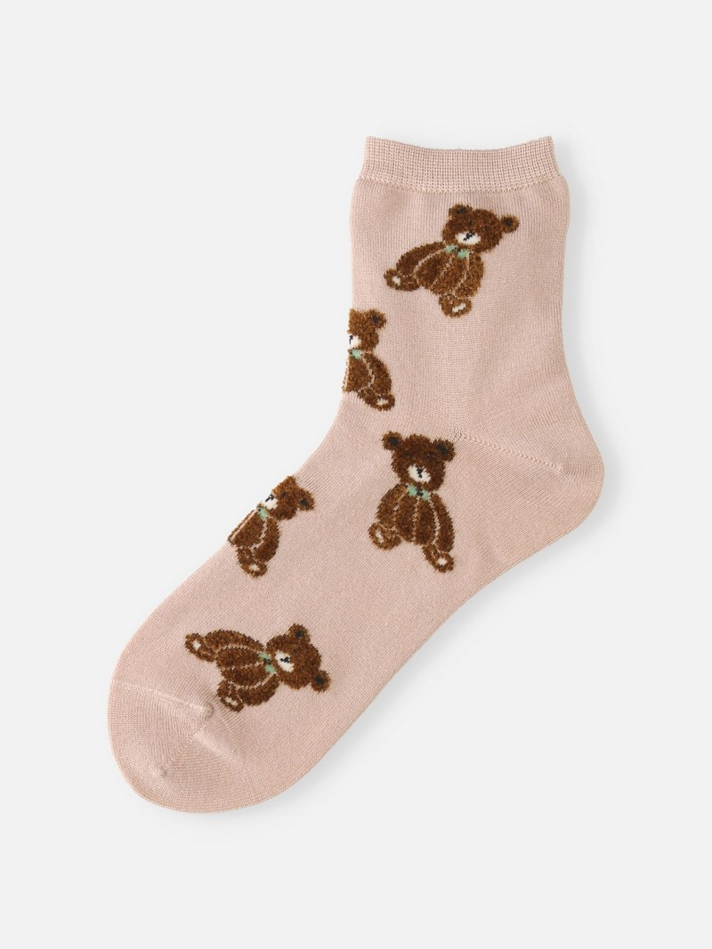 Teddybär Low Crew Socken