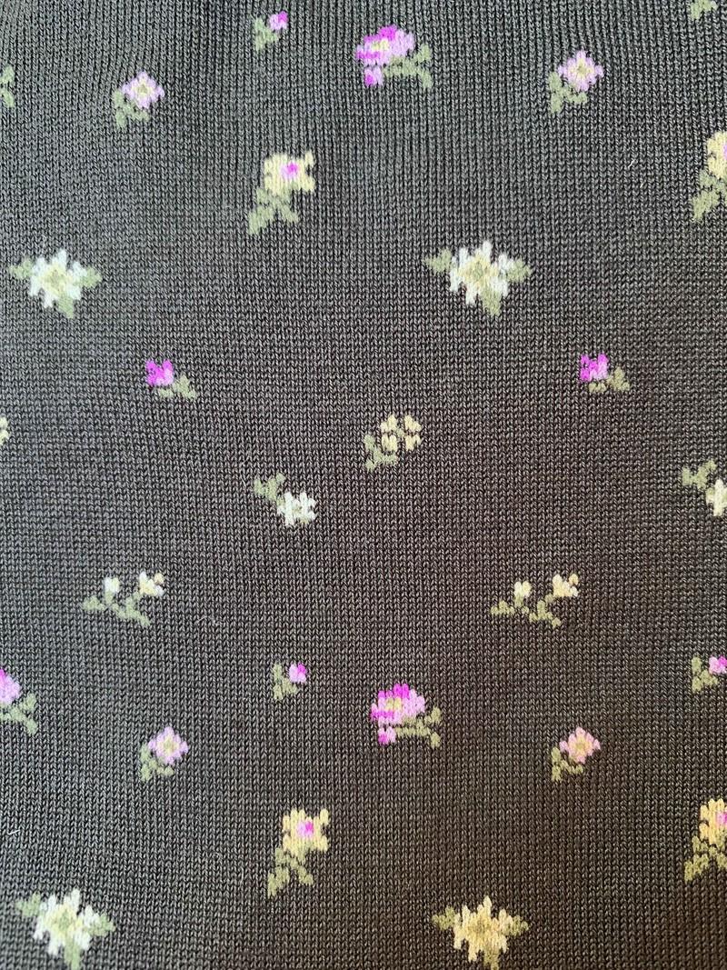 Bunte Blumen Socken M