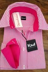 Kauf Kauf Damen Bluse stark Tailliert, AL68cm 100% BW, Pink Streifen Achtung eine Nummer grösser kaufen