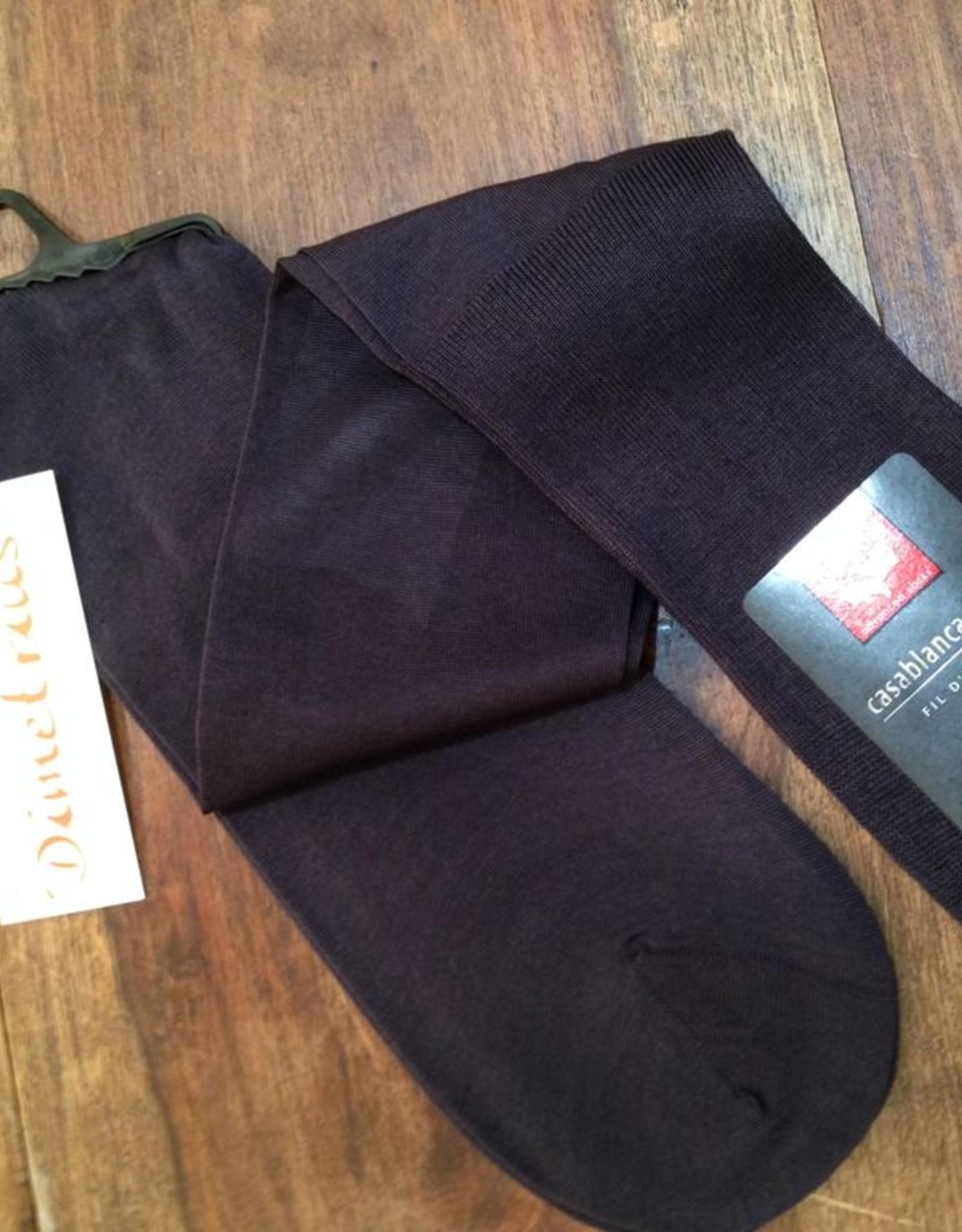 Rohner Socken Rohner Kniesocken  Superfein aus Ägyptischer Baumwolle
