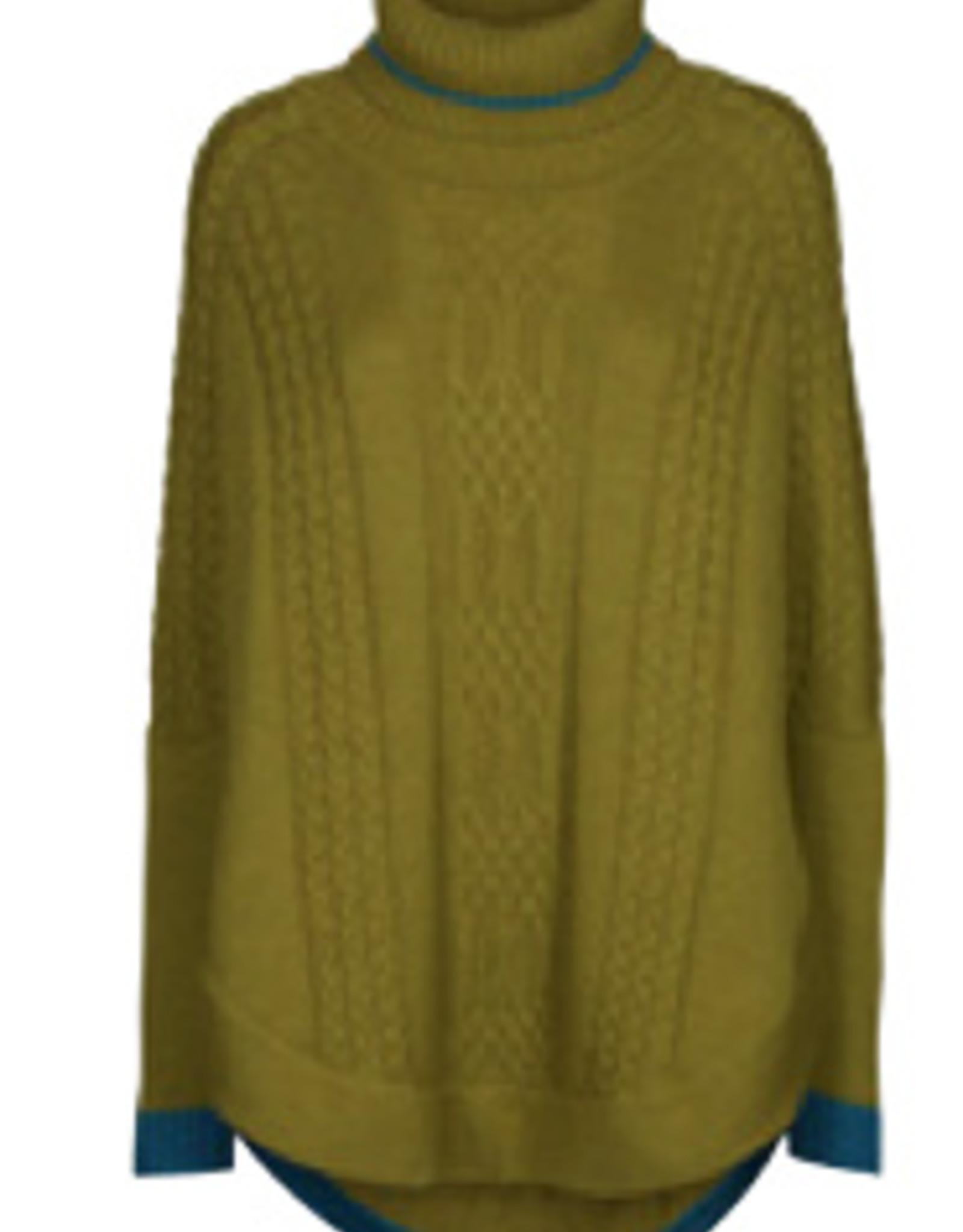 Eva & Claudi E&C Strickcape 100% Wolle