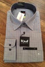 Kauf Kauf Hemd Modernfit tailliert AL:72cm 100% BW, Karro fein