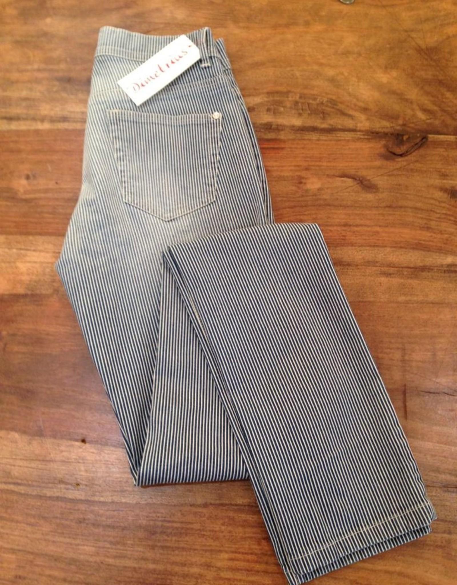 Richy Richy Damen Jeans Röhre Länge38inches, FW16cm Streifen