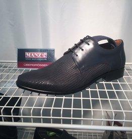 Manz Manz Ternie Schuhe mit Gürtel! elegant, Leder geprägt, Ledersohle
