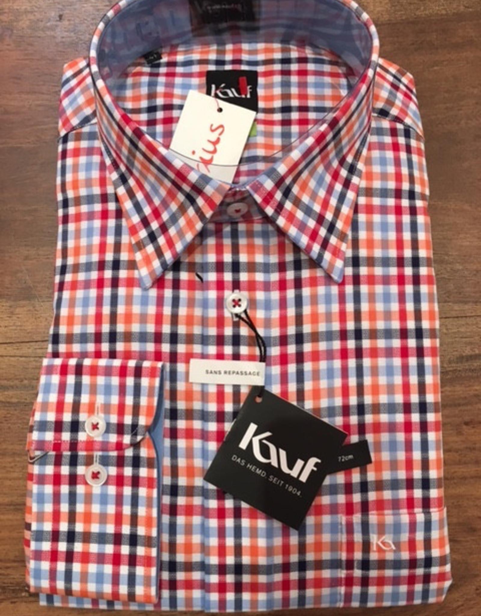 Kauf Kauf Hemd ModernFit, tailliert, karo AL 72cm