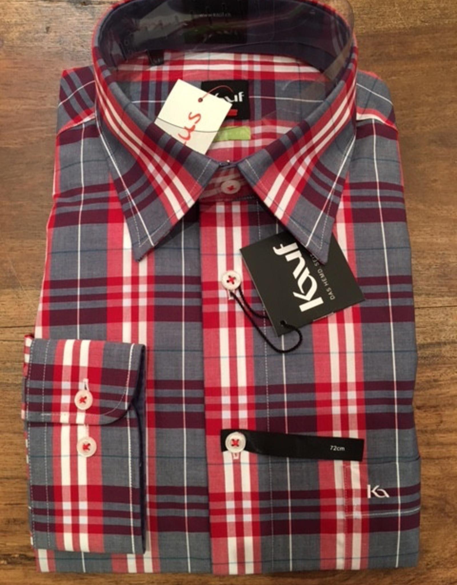 Kauf Kauf Hemd ModernFit, tailliert, grosses karo AL 72cm